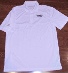 Mens Golf Shirt -White Image